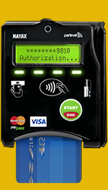 Cashless payment systems for vending machines