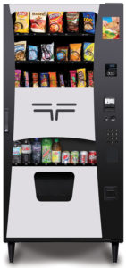 Combination refreshment center: Trimline II Refreshment Center Vending Machine