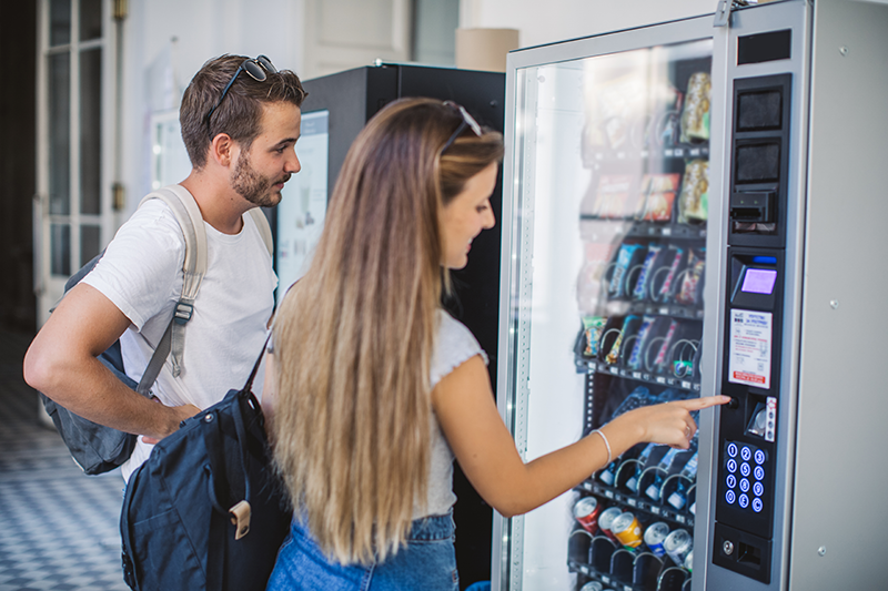 Offices and industry offer a steady stream of customers when you offer your employees and customers vending services. Learn how to be your own boss.