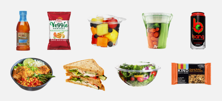 Mini Market vending offer healthy snacks
