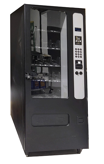 Used snack vending machine for sale by Vending Systems, INC